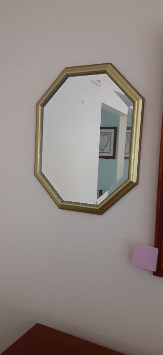 Two of these nice mirrors are available.