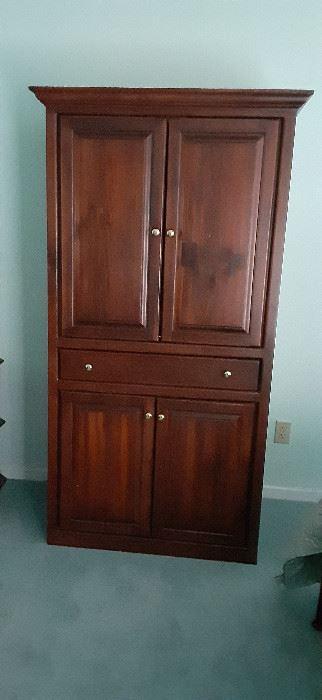 Armoire/wardrobe/storage cabinet.  Very useful!