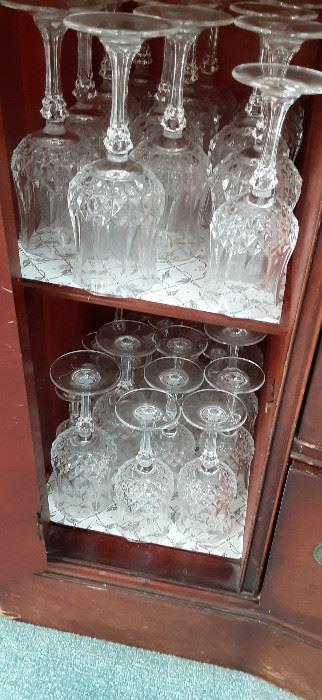 Very nice set of glassware.