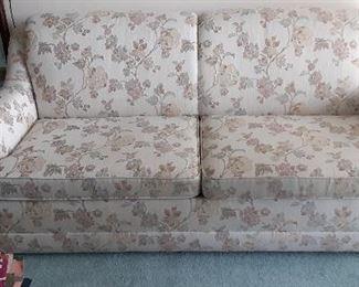 "Harlequin flexsteele sofe bed.  72"" across."