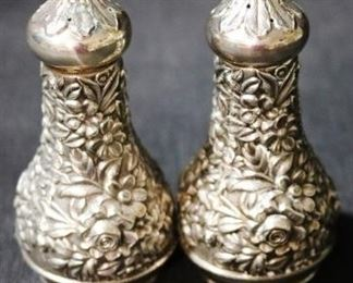 Lot #2 - S. Kirk & Son Sterling Silver Salt & Pepper Shakers