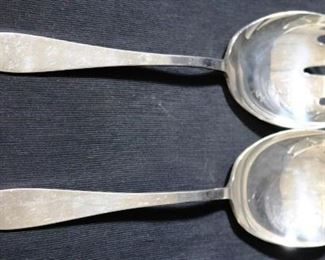 Lot# 35 - Reed & Barton Silver Plated Serving Spoons (2pc)