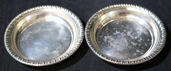 Lot# 49 - Web Sterling Silver Small Bowls (2pcs)