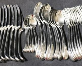 Lot# 58 - Dansk International Silver Plated 37pc Set
