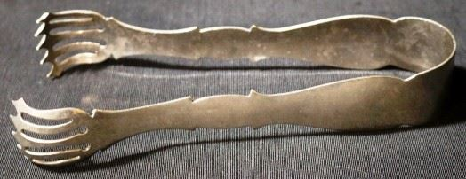 Lot# 70 - Silver Plated Tongs