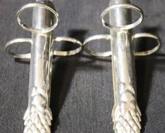 Lot# 71 - Silver Plated Asparagus Tongs