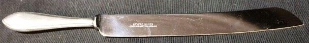 Lot# 130 - Revere Sterling Silver Handle Cake Knife