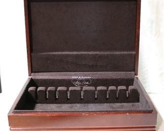 Lot# 147 - Wooden Flatware Storage Box