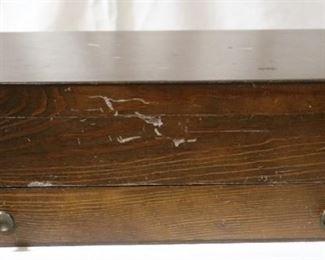 Lot# 148 - Wooden Flatware Storage Box