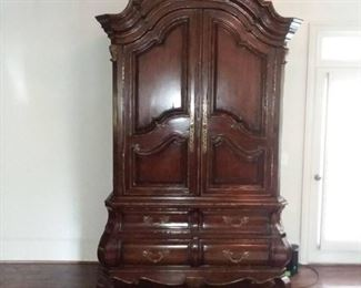 Marge Carson Old World Armoire