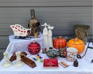 Assorted Decor Items Including Lladro