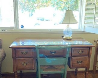 """Adorable desk! *Chair sold separately*  -46"""" wide  -30"""" tall -22"""" deep"""