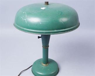 Green Army Lamp