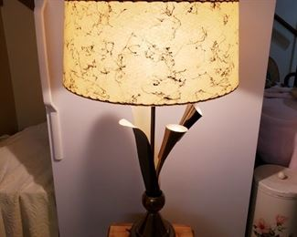 MCM Lamp in very good condition.  All 3 lights work!