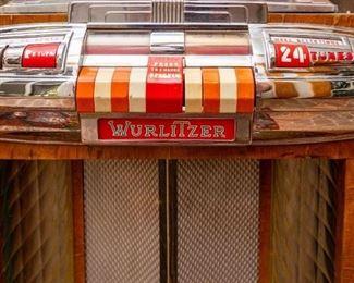 Wurlitzer Multi-Selector Phonograph Juke Box— Model 1100, 115 Volts, 50 Cycles, Serial 2109412