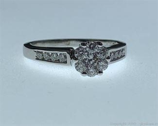 14k Diamond Engagement Ring Appraised