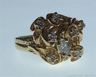 14k Diamond Ring Appraised