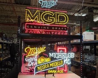 Assorted Vintage Neon signs All Working