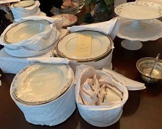 Serving for 12 Mikasa Dinner Set