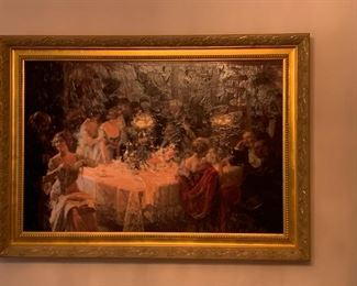 Framed Painting on Board