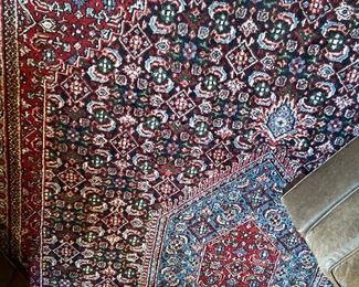 """Oriental all wool carpet 8'11"""" x 12'4"""". $640"""