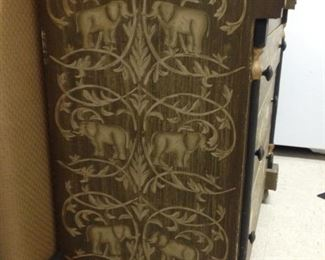 Side view Elephant Chest