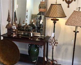 Mirrors, top Quality Floor Lamps , Accessories, Table Lamps, Wooden Wall Shelf