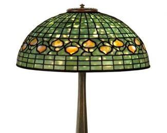 Tiffany Studios, New York, Acorn Table Lamp