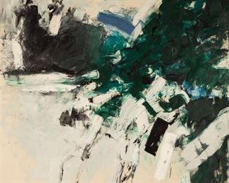 "Kyle Randolph Morris (American, 1918-1979) ""Green Burst"""