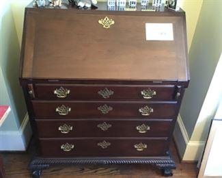 Antique fall front secretary $850