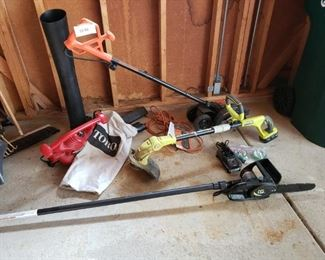 Electric Lawn and Garden Tools