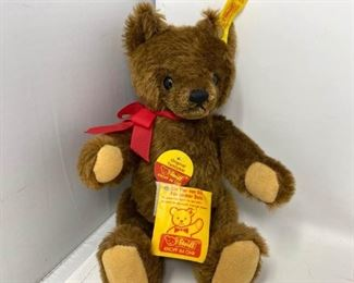 Newer 10 Steiff Original Teddy Bear with Button