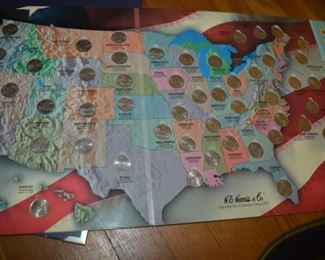 Quarters of the US