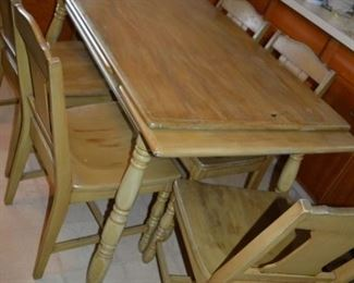 Primitive extendable table