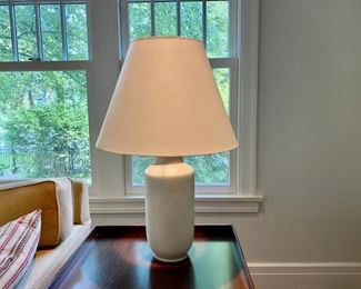 "Table lamp                                                                         200.00 Originally  850.00              29 1/2""h                                                        *available for pickup  October 16"