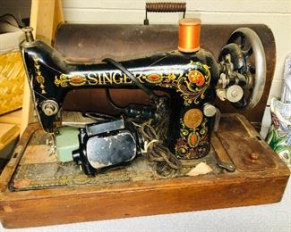Beautiful vintage sewing machine