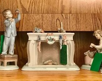 Lladro Christmas pieces