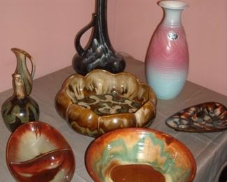 Nice collection of Dryden pottery
