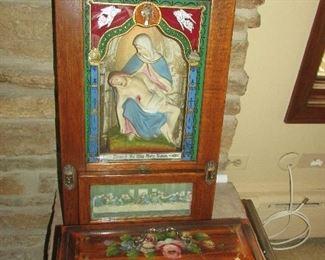 Antique Last Rites Box