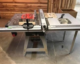 Delta Industrial Table Saw with Biesemeyer Fence System