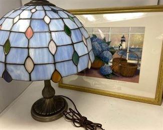 TiffanyStyle Lamp plus Print