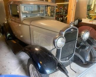 1931 Model  A Coup  Asking  $24,800.    Many extra parts included  Runs great!