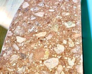 Marble stone top of Italian Maggolini cabinet