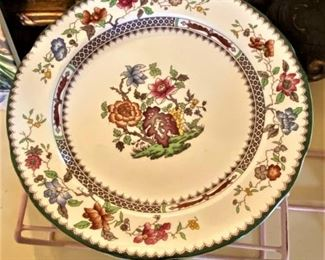 """""""Chinese Rose"""" by Spode"""