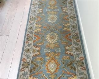 Wool runner rug- there are several rugs at this sale