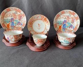 Imari Tea Sets, Circa 1770