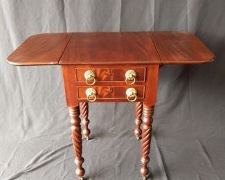 Early American Drop Leaf Side Table