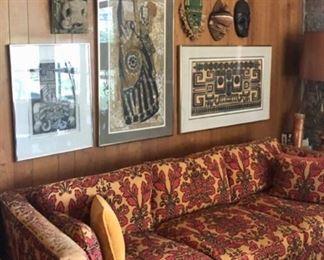 Original art from world travels - African & Asian