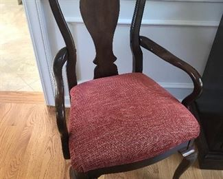 1 of 2 THOMASVILLE Host/Arm Chairs