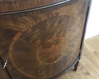 Detail of Inlay on BAKER Chest